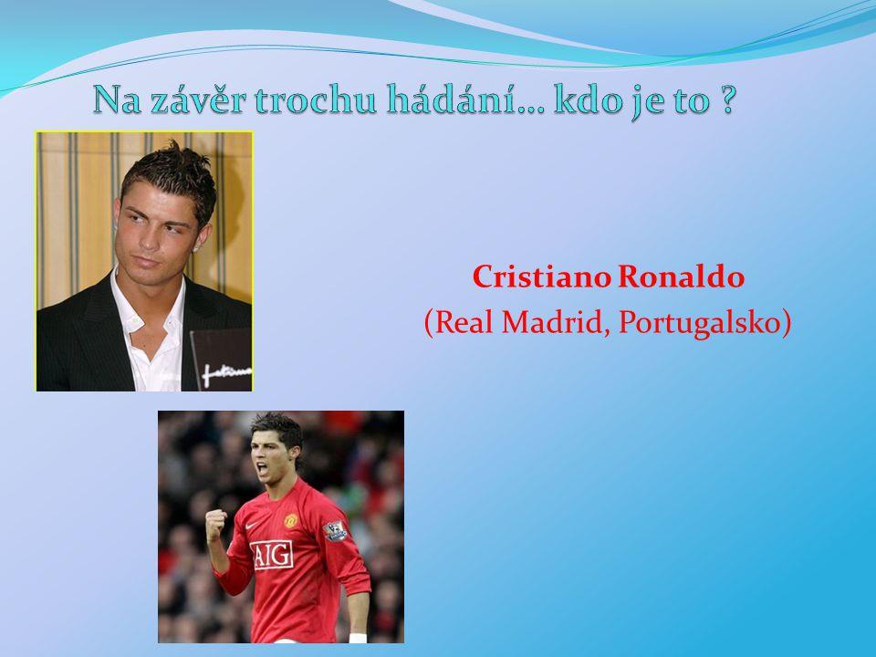 Cristiano Ronaldo (Real Madrid, Portugalsko)