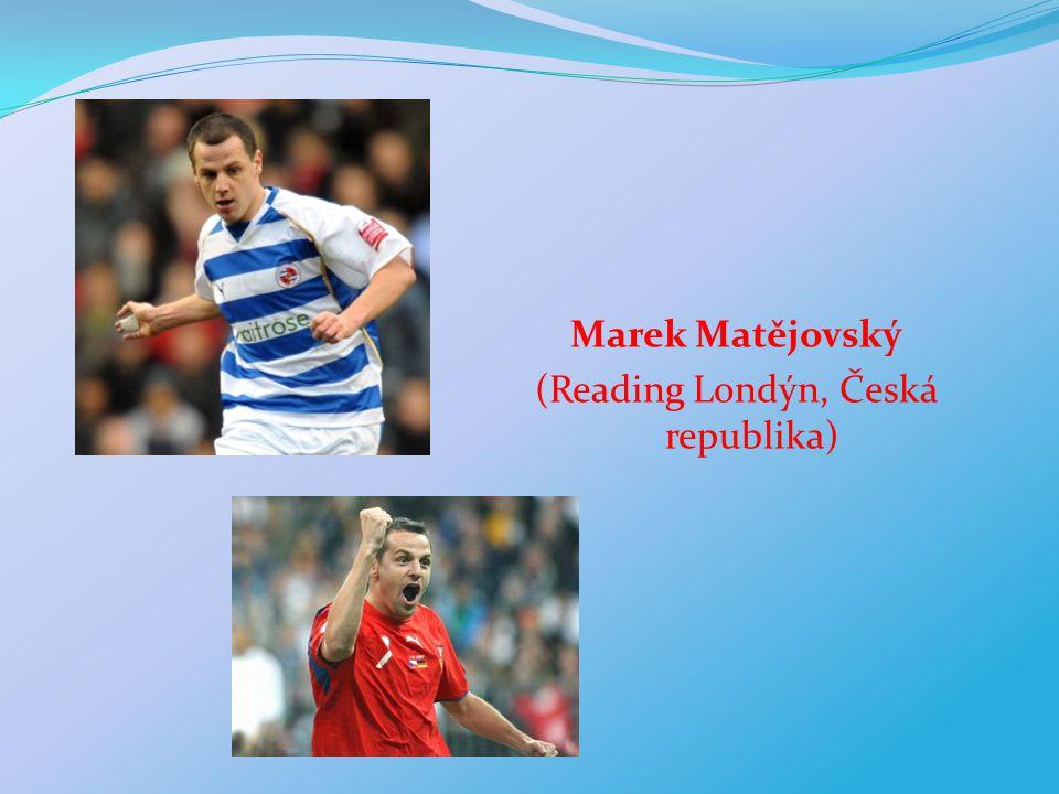 Marek Matějovský (Reading Londýn, Česká republika)