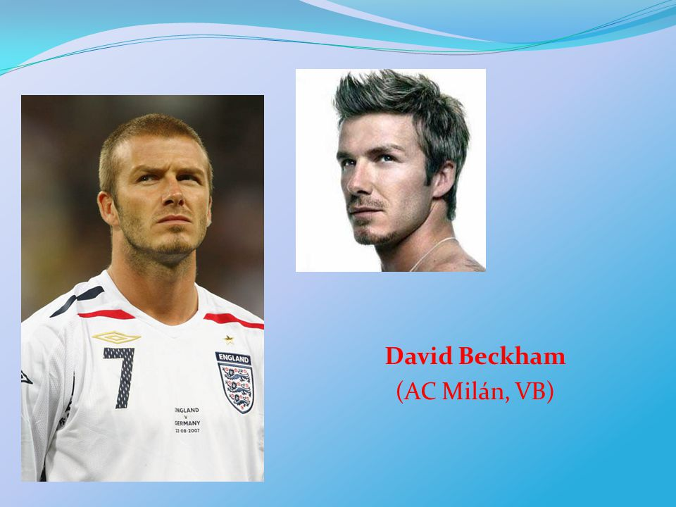 David Beckham (AC Milán, VB)