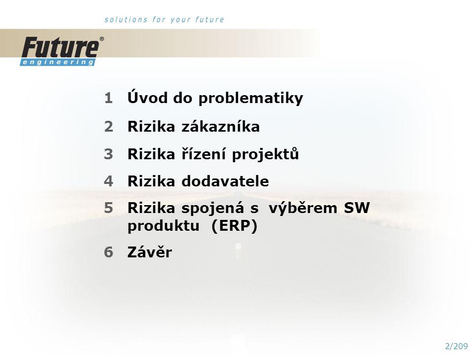 1/209 RIZIKA IMPLEMENTACE ESF MU Přednášející : SKORKOVSKÝ