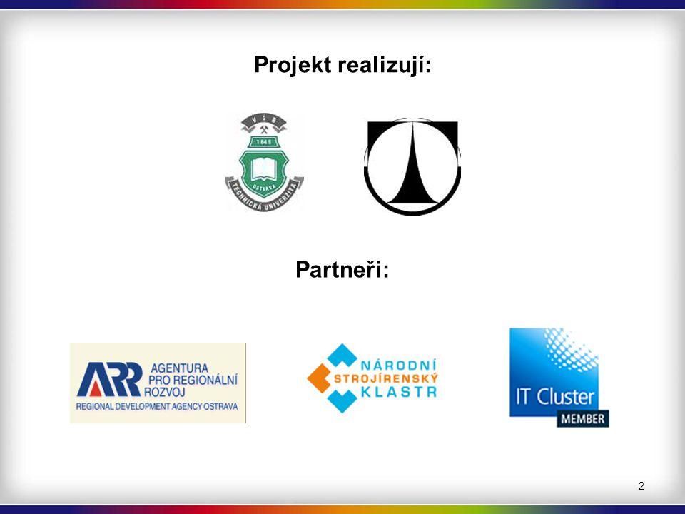 Projekt realizují: Partneři: 2