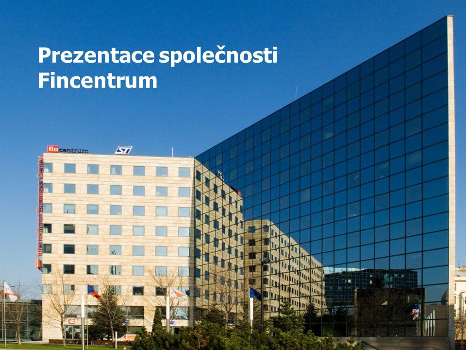 Prezentace společnosti Fincentrum