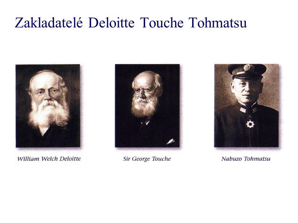 Zakladatelé Deloitte Touche Tohmatsu