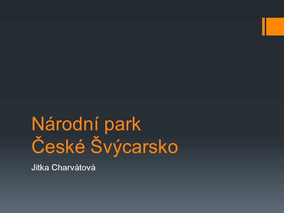 Národní park České Švýcarsko Jitka Charvátová