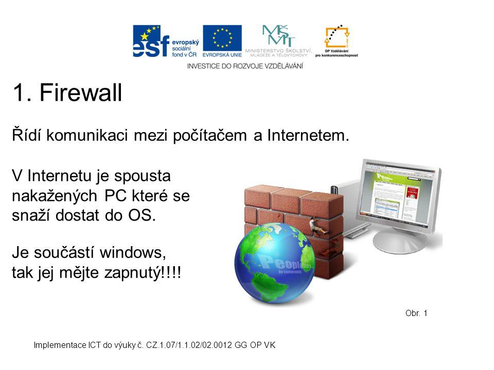 Implementace ICT do výuky č.CZ.1.07/1.1.02/02.0012 GG OP VK 2.
