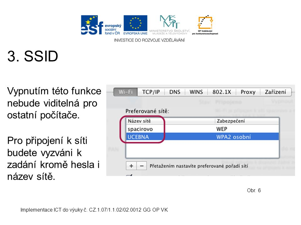 Implementace ICT do výuky č. CZ.1.07/1.1.02/02.0012 GG OP VK 3.