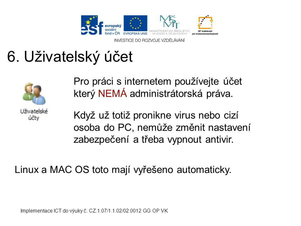 Implementace ICT do výuky č.CZ.1.07/1.1.02/02.0012 GG OP VK 7.