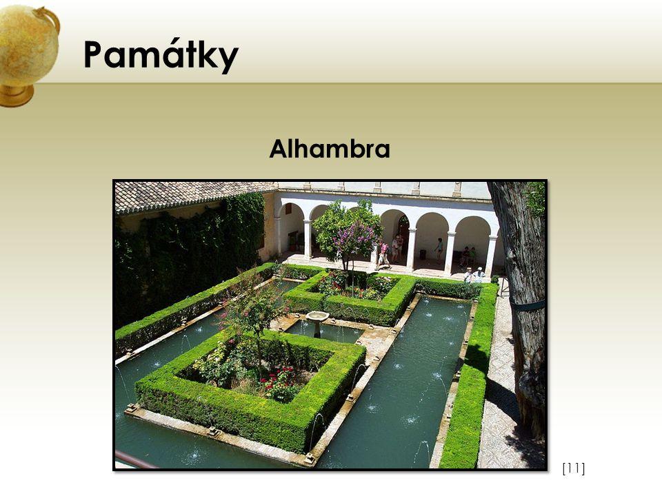 Památky [11] Alhambra