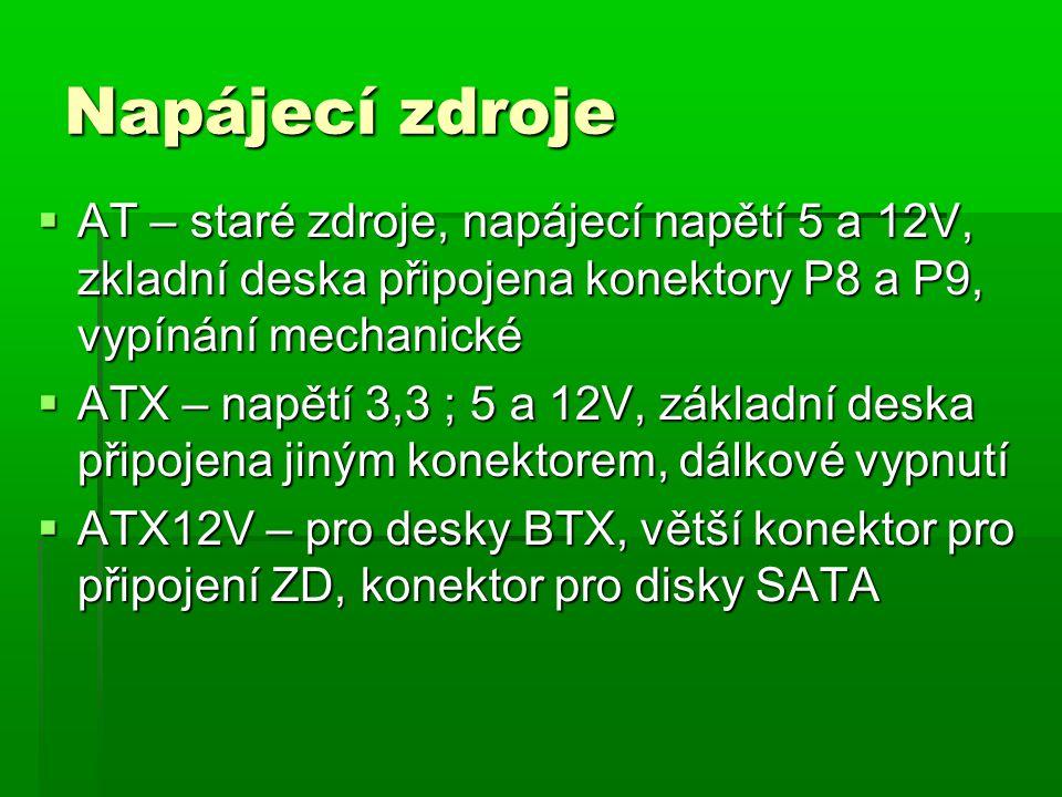 Konektory pro ZD