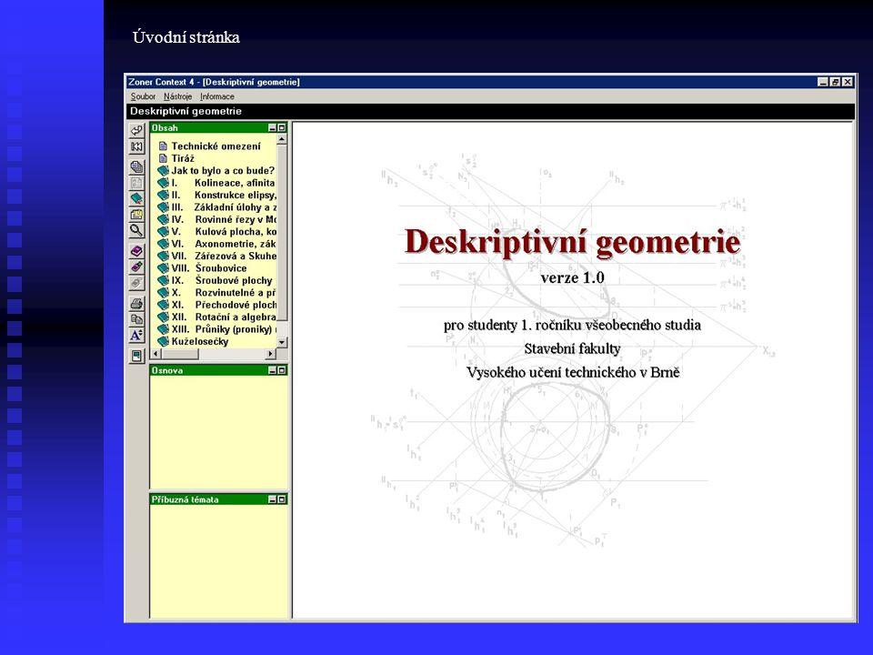 Vybraný příklad tak, jak jej studenti vidí při prohlížení textu.