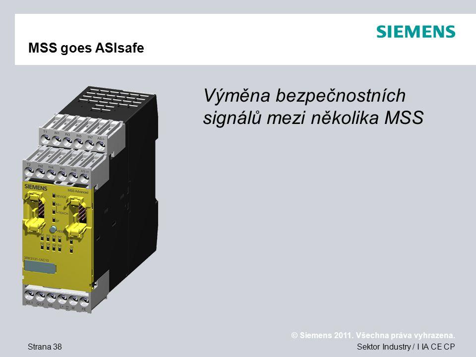 © Siemens 2011.Všechna práva vyhrazena.