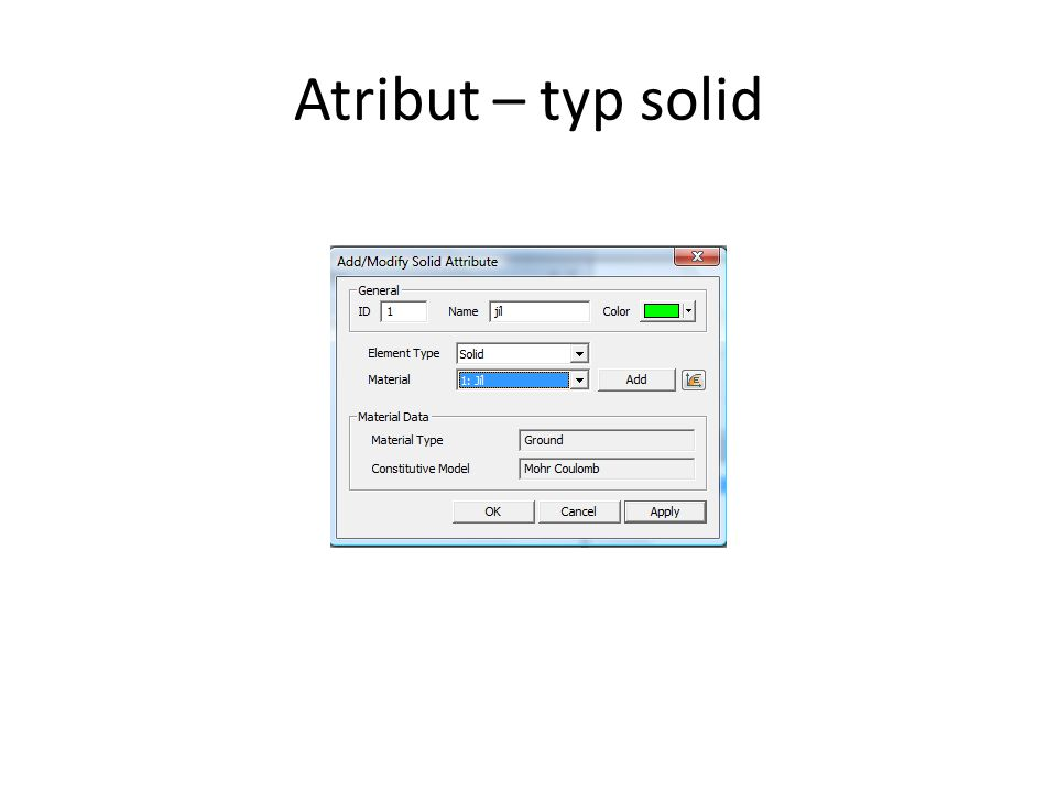 Atribut – typ solid