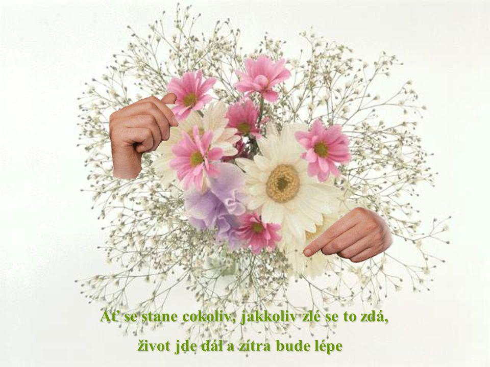 Ať se stane cokoliv, jakkoliv zlé se to zd á, život jde dál a zítra bude lépe život jde dál a zítra bude lépe