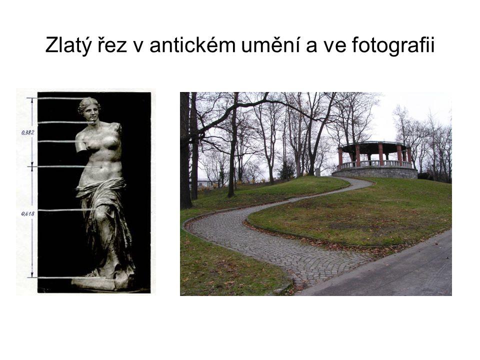 Zlatý řez v antickém umění a ve fotografii