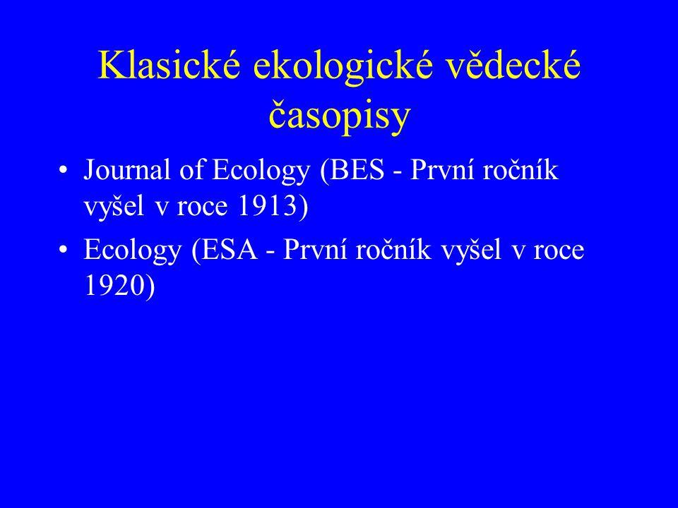 Postup vědeckého poznání podle: The Ecology of Plants by Jessica Gurevitch, Samuel M.