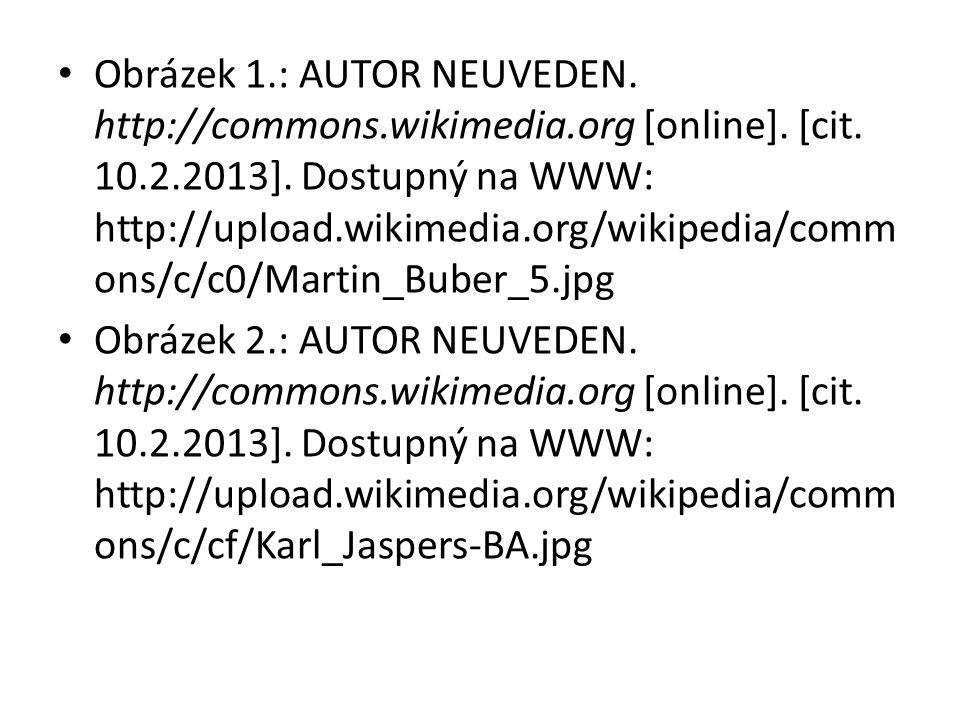 Obrázek 1.: AUTOR NEUVEDEN. http://commons.wikimedia.org [online]. [cit. 10.2.2013]. Dostupný na WWW: http://upload.wikimedia.org/wikipedia/comm ons/c