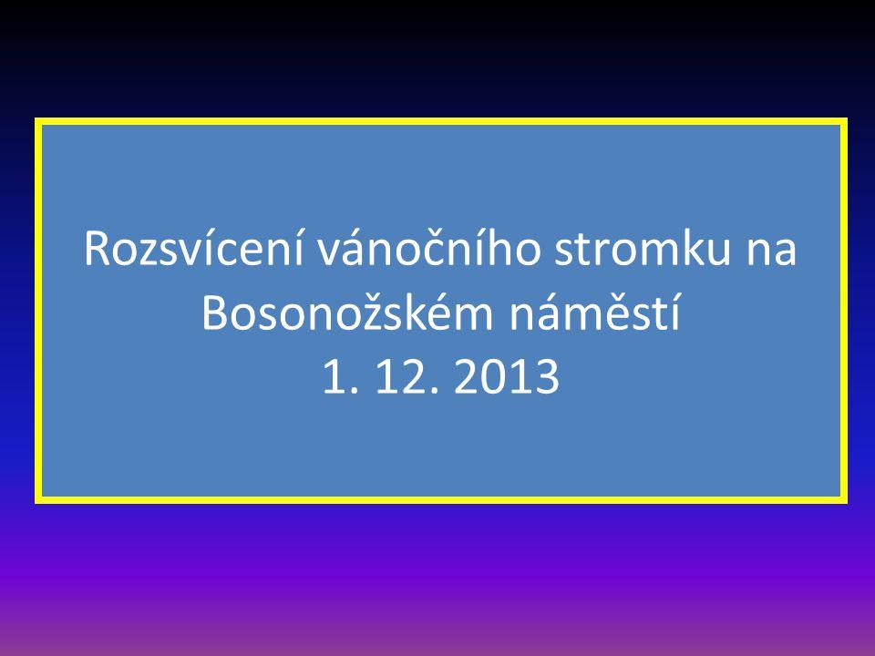 …. Foto snímky pořídili a prezentaci zpracovali Ing. Hostinský a Vladimír Hudec Prosinec 2013