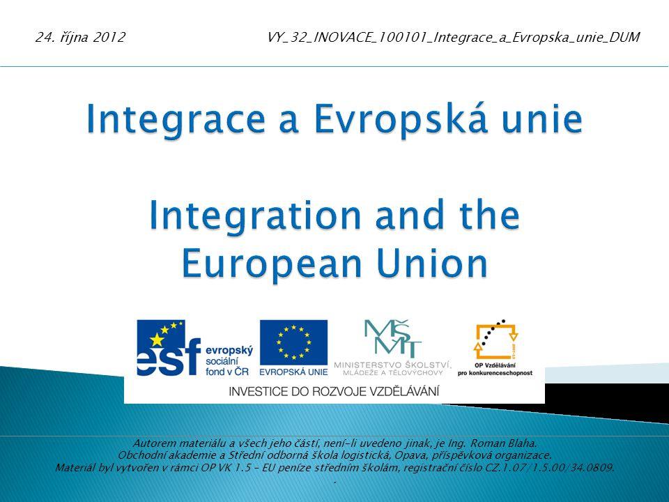 Evropská unie je rodinou demokratických evropských zemí rozhodnutých společně usilovat o mír a prosperitu.
