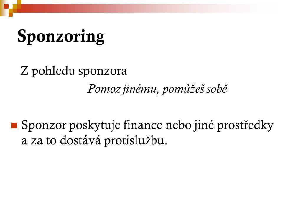 ROUS, Pavel.Peníze, peníze,peníze aneb otazníky kolem dárcovství a sponzorování.