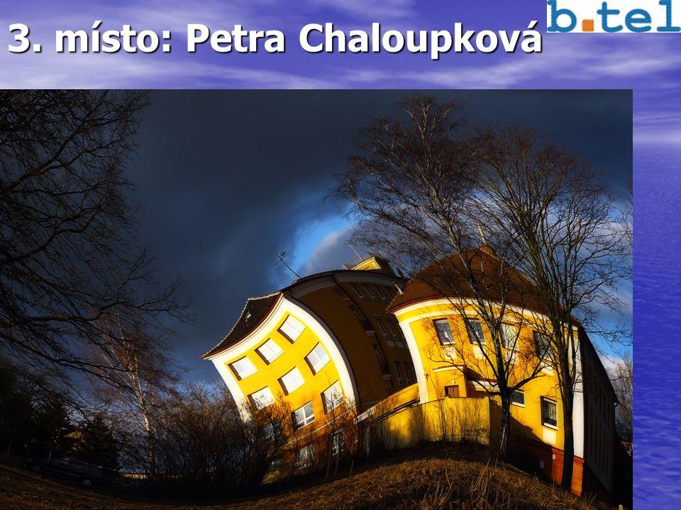 3. místo: Petra Chaloupková