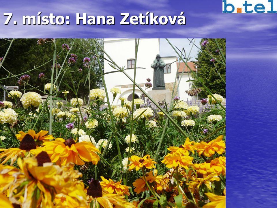 7. místo: Hana Zetíková