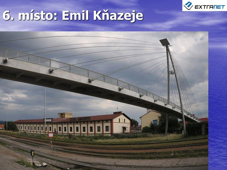 6. místo: Emil Kňazeje