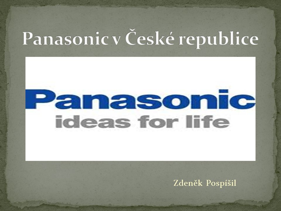 Mezinárodní obchodní značka, pod kterou japonská firma Panasonic Corporation prodává své výrobky z oblasti domácí elektroniky.