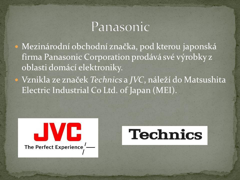 Společnost Panasonic, působí v České republice prostřednictvím společností Panasonic Marketing Europe GmbH.