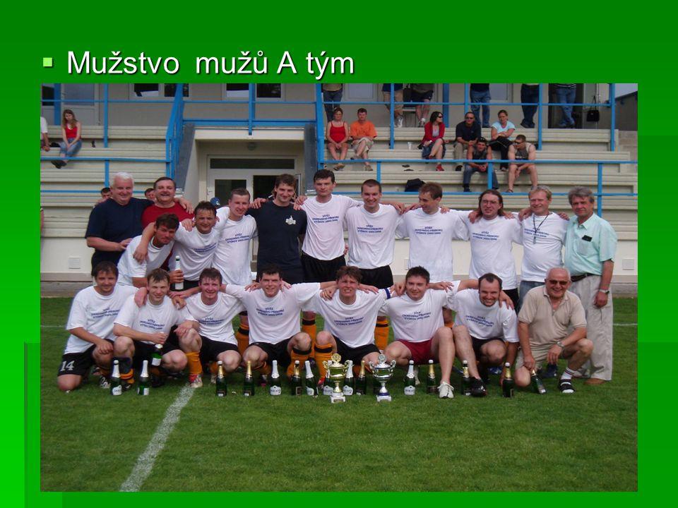  Mužstvo mužů A tým