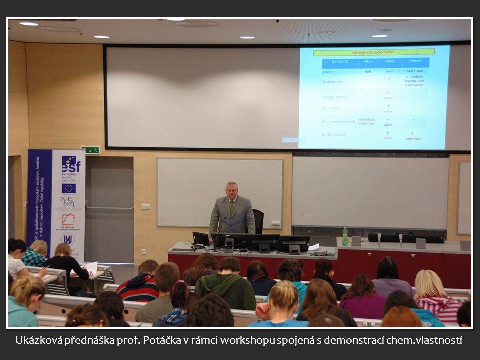 prof. Potáček – diskuse k celému projektu