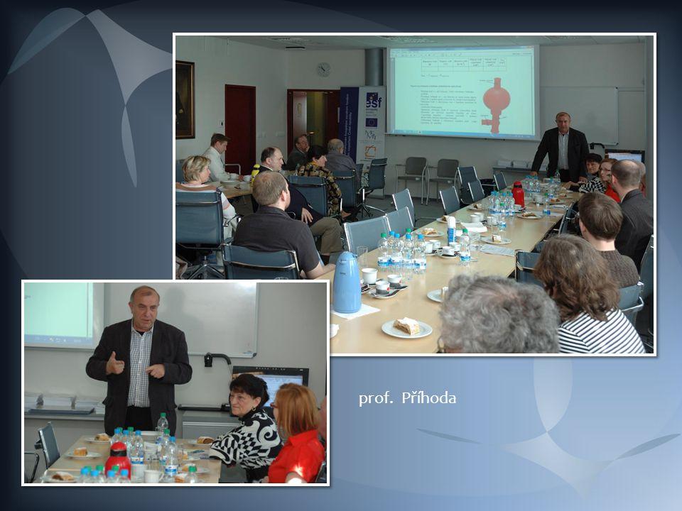 prof. Potáček – manažér projektu