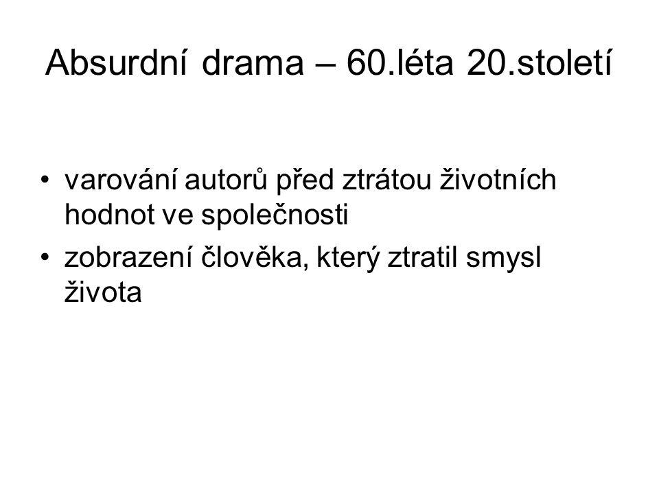 Konec prezentace Název: Rysy vývoje dramatu po 2.sv.