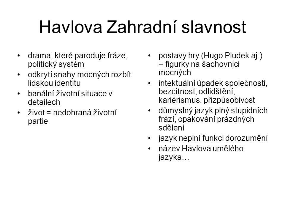 Další významní dramatici V.Blažek: Starci na chmelu, Třetí přání, Příliš štědrý večer I.