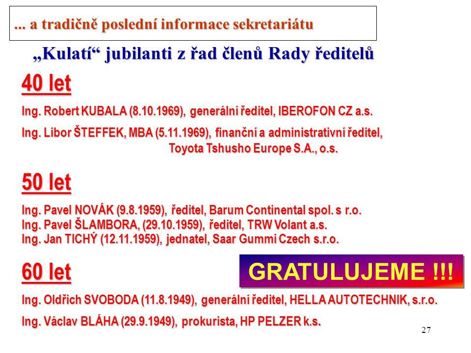 26 Nabídky, materiály k dispozici Informace č.