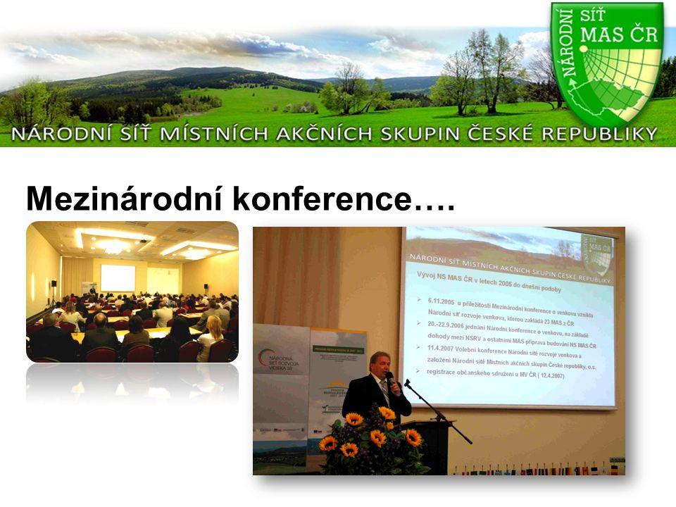 Mezinárodní konference….