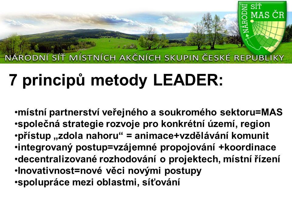 Mezinárodní spolupráce NS MAS ČR Národní síť je členem Evropské asociace pro rozvoj venkova Leader (ELARD) Národní síť se podílí na práci Evropské sítě pro venkov (ENRD) Europen LEADER Association for Rural Development