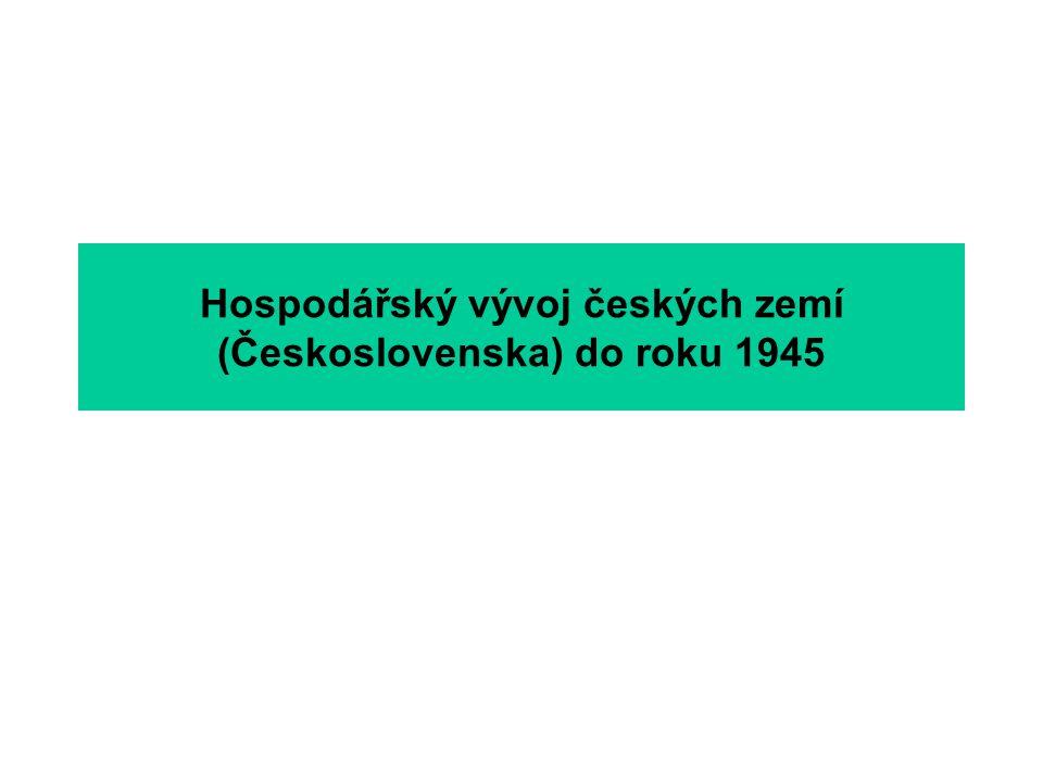 Etapy a hlavní rysy hospodářského vývoje meziválečného období IV Industrializace Slovenska – výstavba druhé báze čs.
