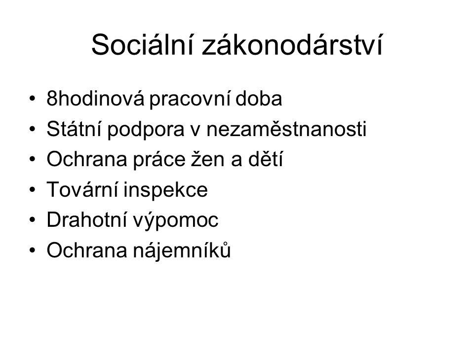 Formování ekonomiky samostatného státu Nacionalizace státního aparátu Poč.