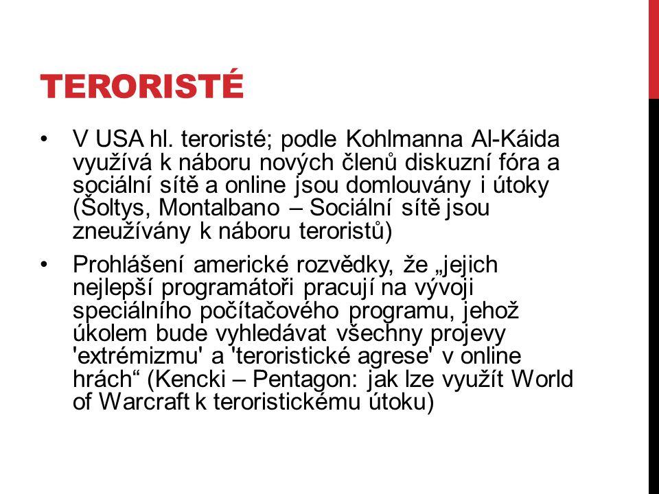 TERORISTÉ V USA hl.