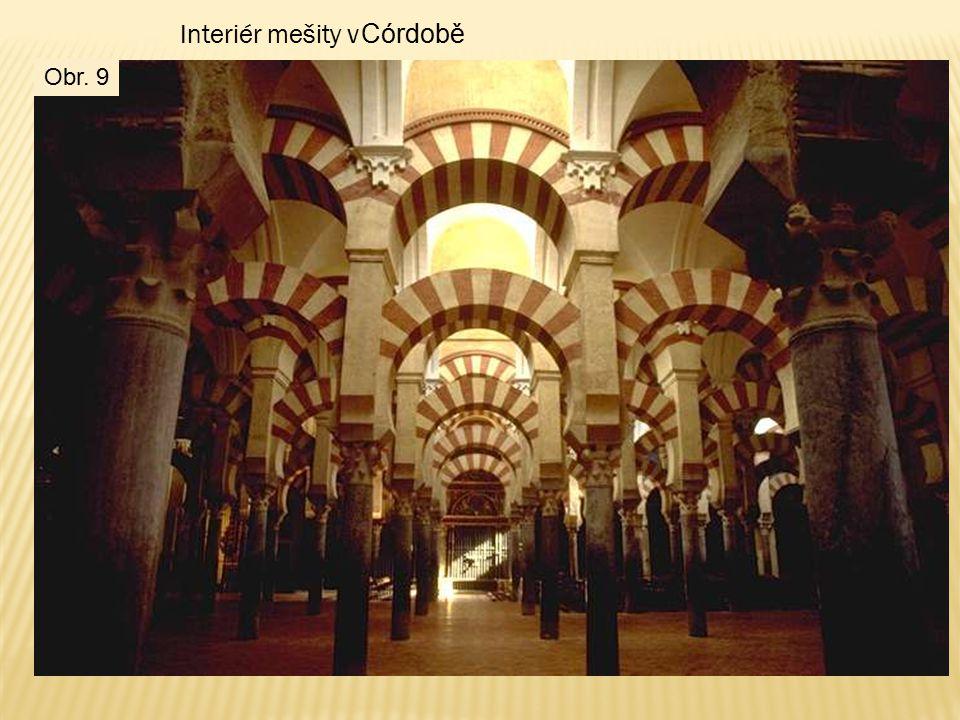 Interiér mešity v Córdobě Obr. 9
