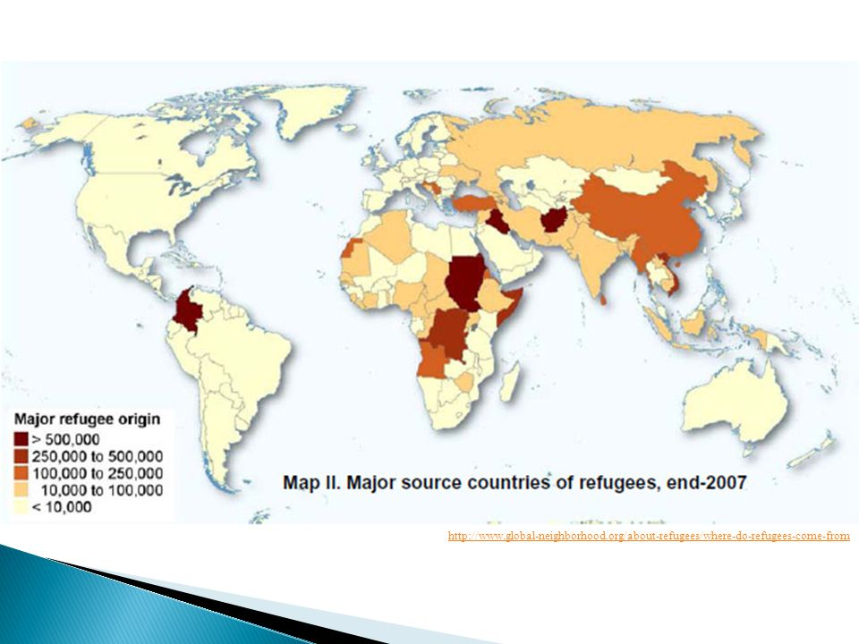 http://www.global-neighborhood.org/about-refugees/where-do-refugees-come-from