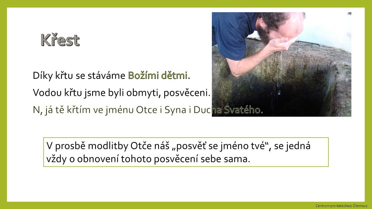 Jméno v Písmu svatém ukazuje na podstatu svého nositele. Centrum pro katechezi Olomouc