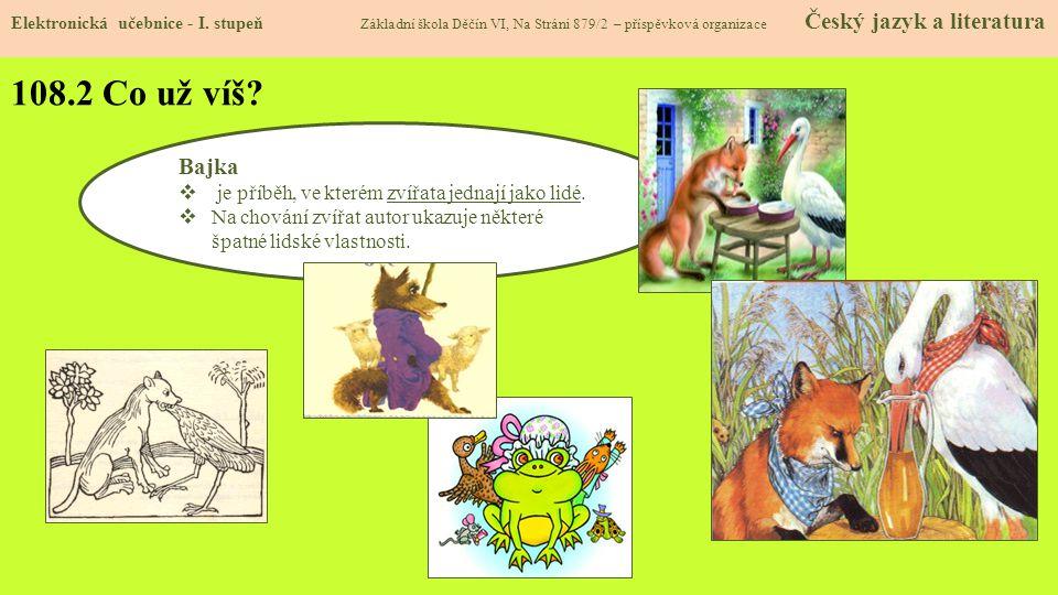 108.3 Jaké si řekneme nové termíny a názvy.Elektronická učebnice - I.