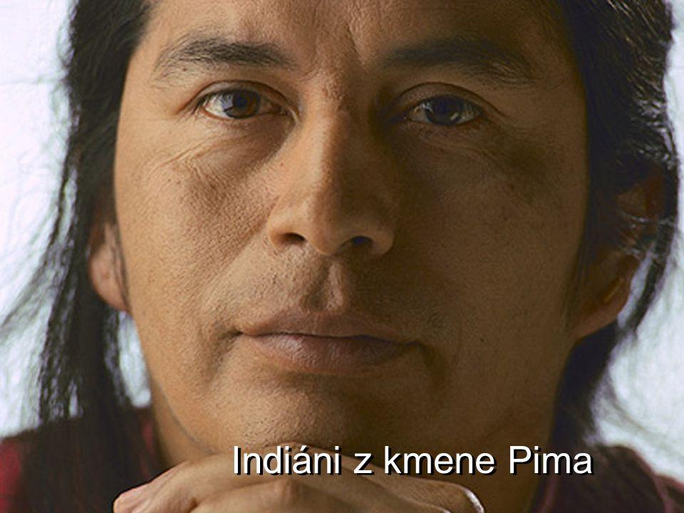 Indiáni z kmene Pima