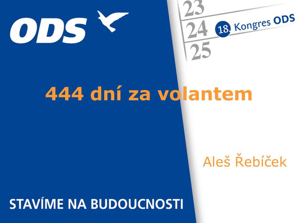 Aleš Řebíček 444 dní za volantem