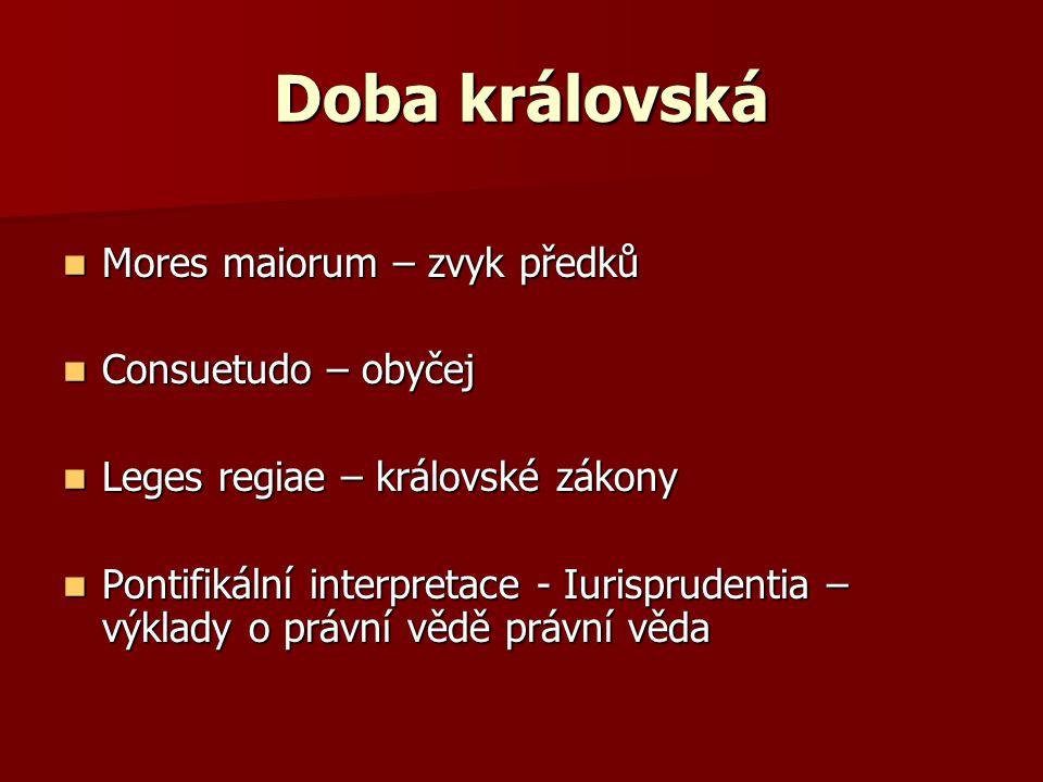 Části kodifikace Codex Digesta (řecky Pándékeodai = všezahrnující) Institutiones Codex repetitiae prelectionis Novellee