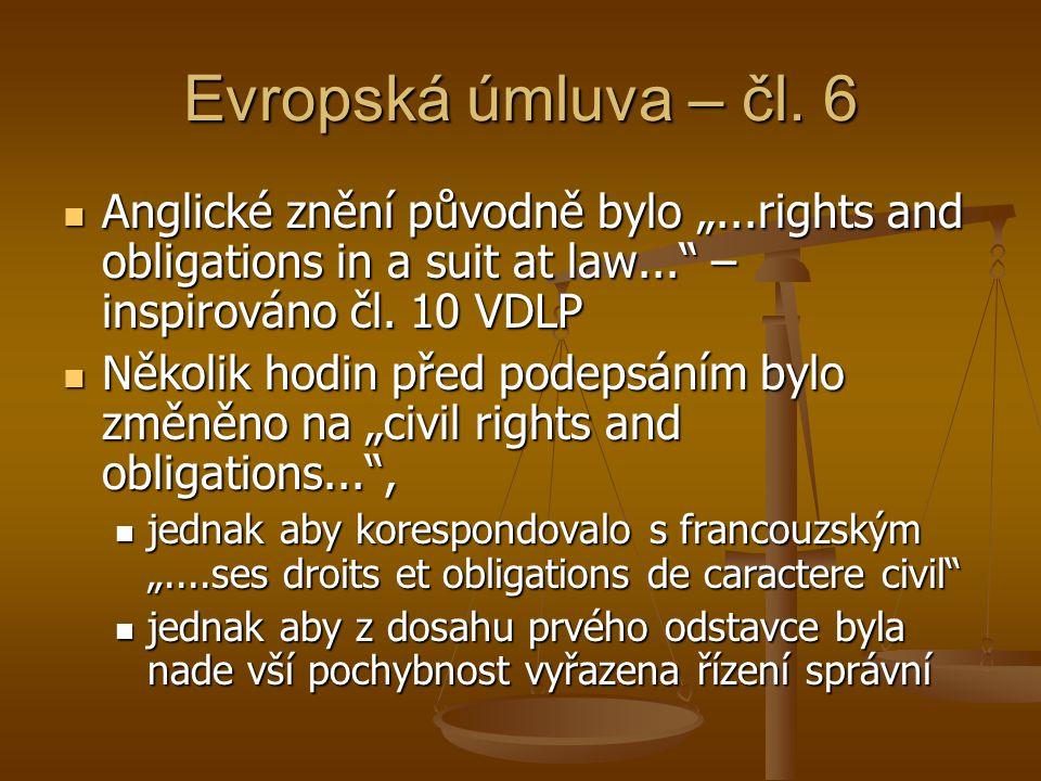 Evropská úmluva – čl.