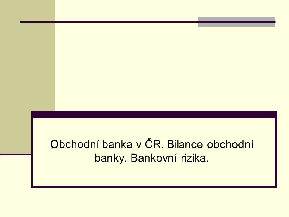 - úrokové riziko (riziko ztráty vyplývající ze změn tržních úrokových sazeb), → přizpůsobit strukturu aktiv a pasiv tak, aby jejich úroková citlivost na změny tržních úrokových sazeb byla přibližně shodná, → pomocí derivátových obchodů.