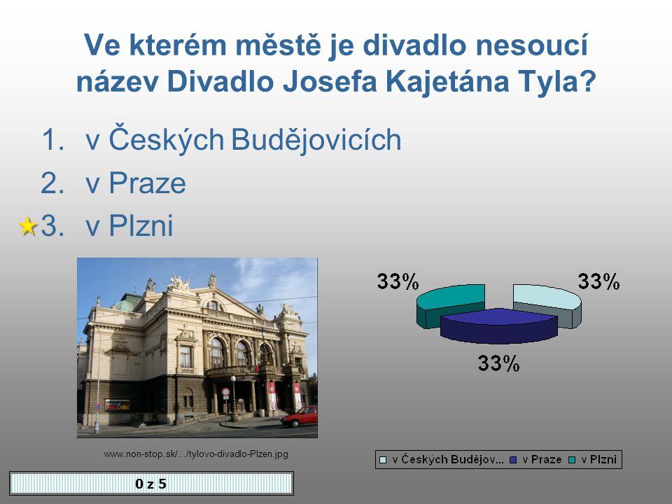 Tyl byl redaktorem úspěšného časopisu 0 z 5 1.Květy 2.Včela 3.Vlasta www.cnb.cz/.../tyl_soutez.html