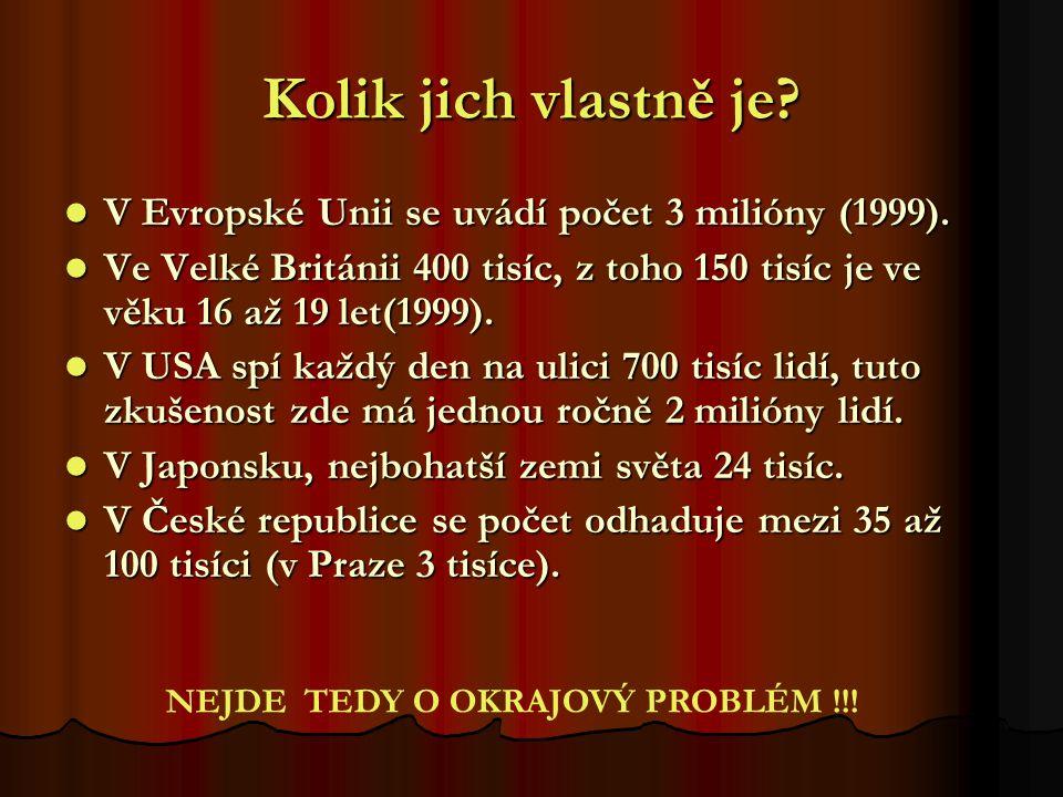 Kolik jich vlastně je? V Evropské Unii se uvádí počet 3 milióny (1999). V Evropské Unii se uvádí počet 3 milióny (1999). Ve Velké Británii 400 tisíc,